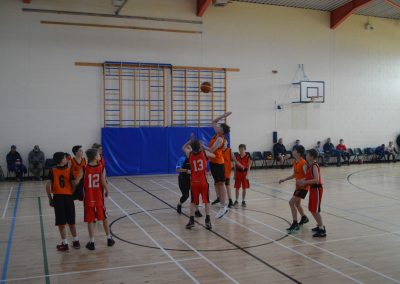 U14 Boys Raptors Action