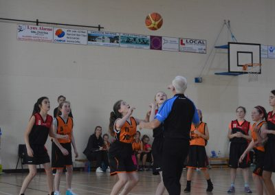 U14 Girls Wildcats Action